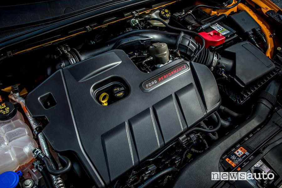 Ford Focus ST 2019 motore 2.3 EcoBoost da 280 CV