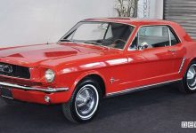 Photo of Auto storica all'asta, la Ford Mustang del 1965 di Sylvester Stallone in vendita