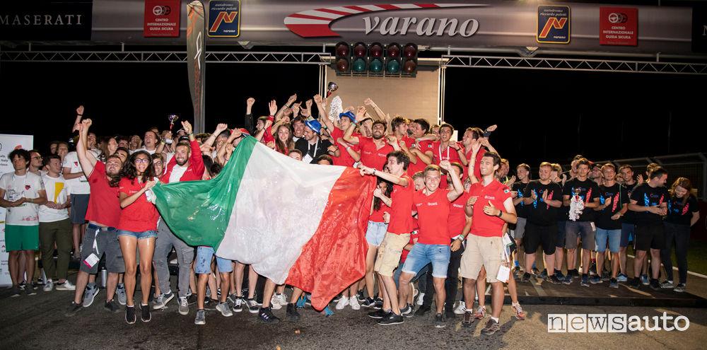 Premiazione Formula SAE Italy 2019 sulla pista di Varano de' Melegari
