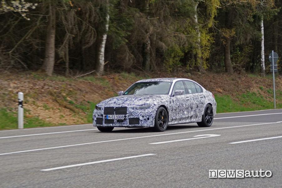 BMW M3 Pure foto spia