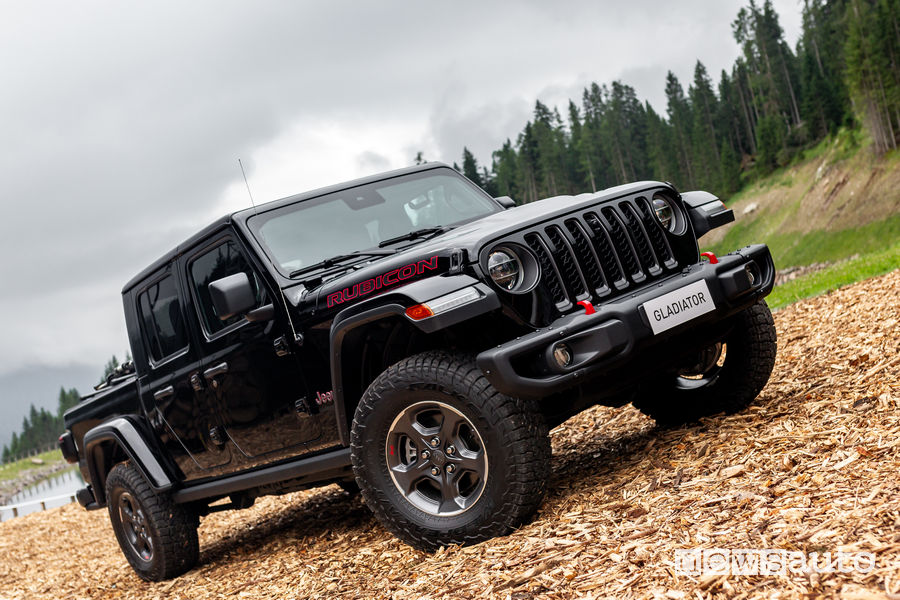 Jeep Gladiator al Camp Jeep 2019 personalizzato Mopar