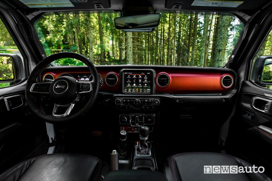Jeep Gladiator Rubicon plancia strumenti