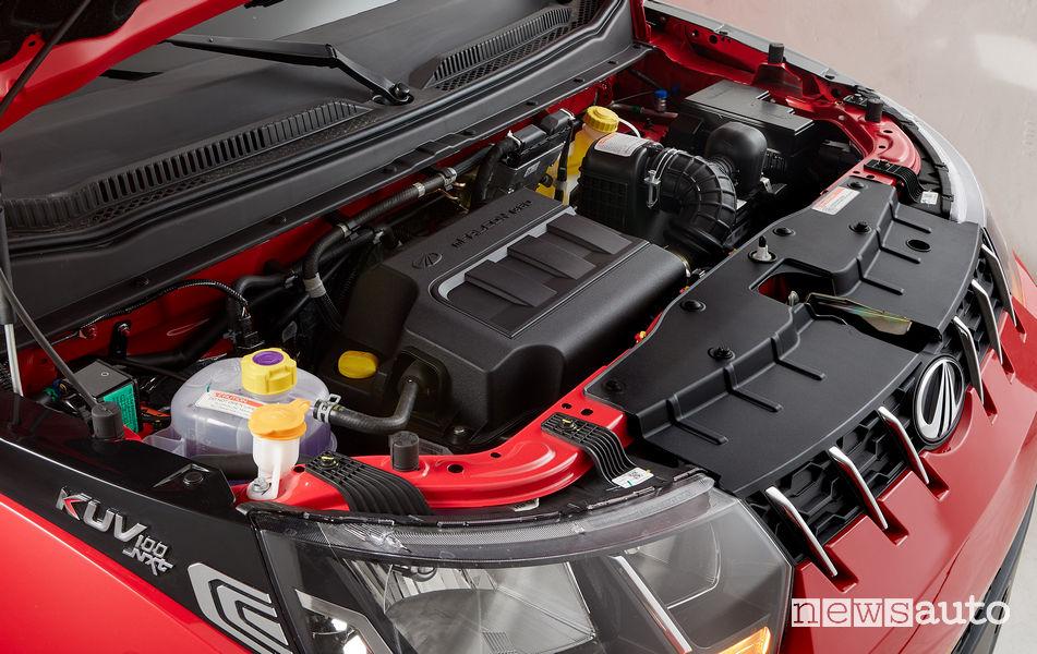 Mahindra KUV100 NXT vano motore