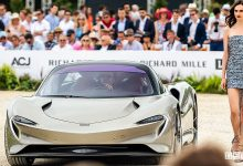 McLaren Speedtail concorso auto Chantilly Art & Elégance Richard Mille