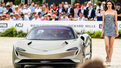 "Photo of Concorso auto di Chantilly, la McLaren Speedtail è ""Best of Show"""