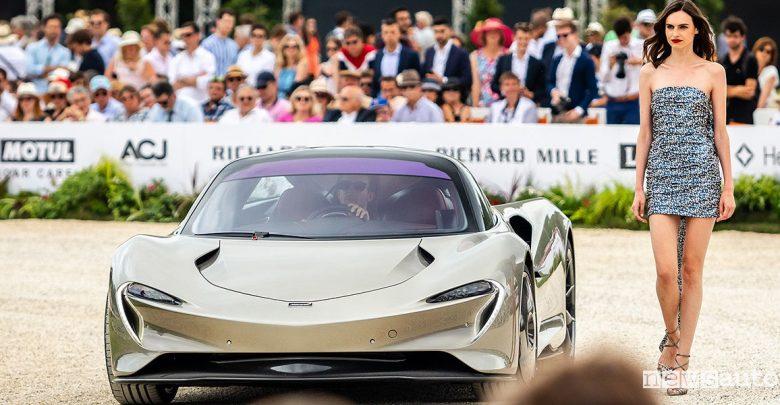 McLaren Speedtail concorso auto Chantilly Art & Elégance Richard Mille
