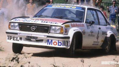 Opel Ascona nei rally 1980