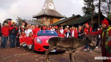 Photo of Record Ferrari al Circolo Polare Artico!