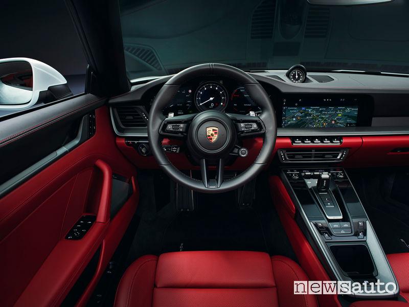 Porsche 911 Carrera Cabriolet plancia strumenti