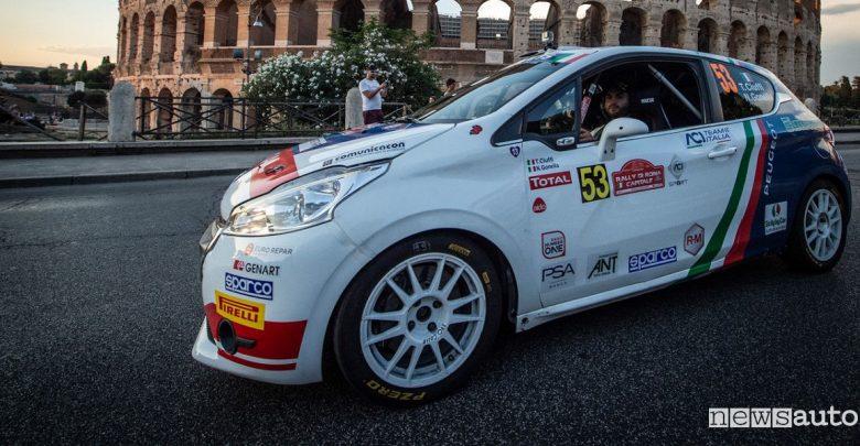 Peugeot Rally di Roma Capitale 2019