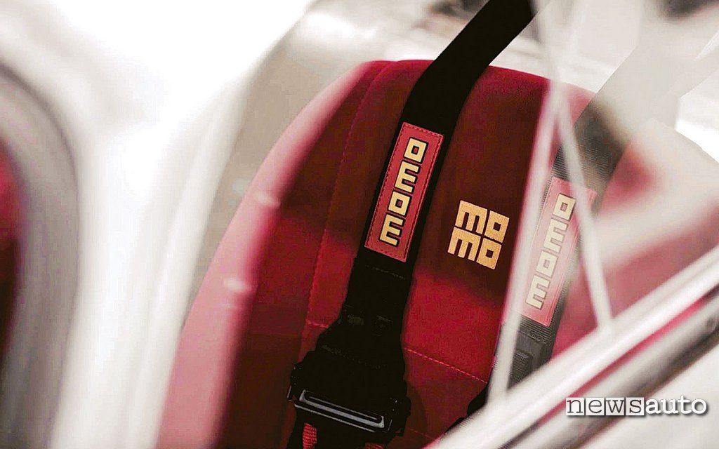 Sedile Momo Emory Porsche 356 RSR