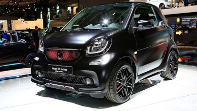 Smart fortwo limited edition pureblack