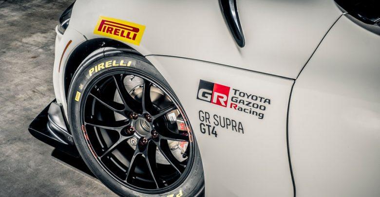 Toyota GR Supra GT4 cerchi da competizione