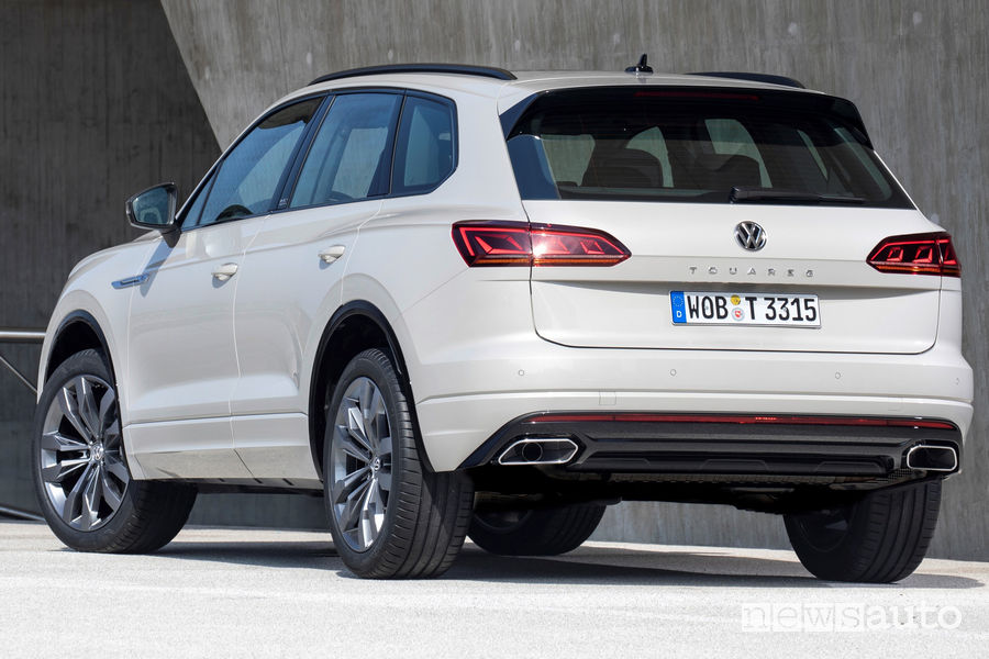 Volkswagen Touareg ONE Million vista posteriore