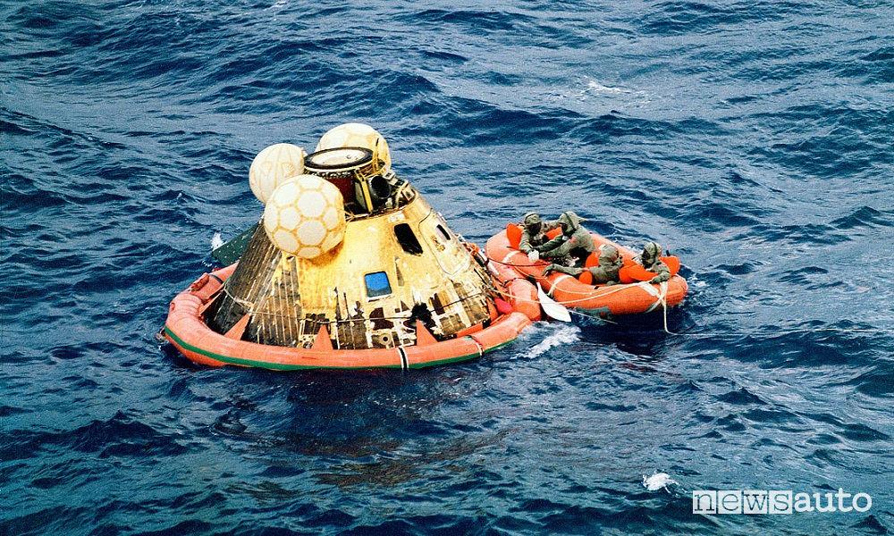 ammaraggio Apollo 11