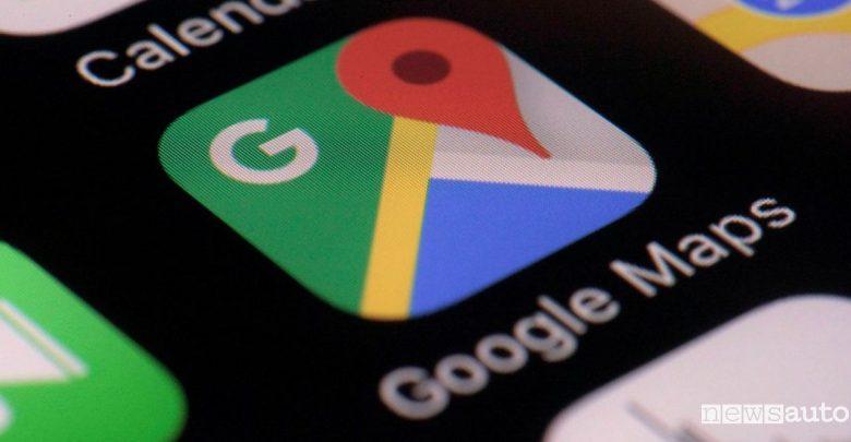 Incidenti e code su Google Maps