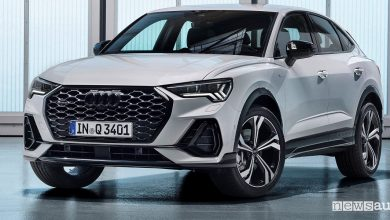 Photo of SUV Coupé sportivo, nuova Audi Q3 Sportback
