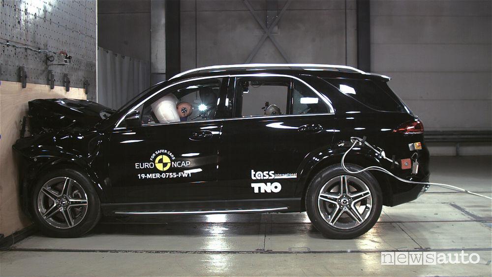 Crash test Euro NCAP Mercedes-Benz GLE