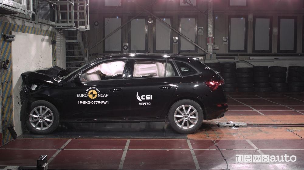 Crash test Euro NCAP Skoda Scala