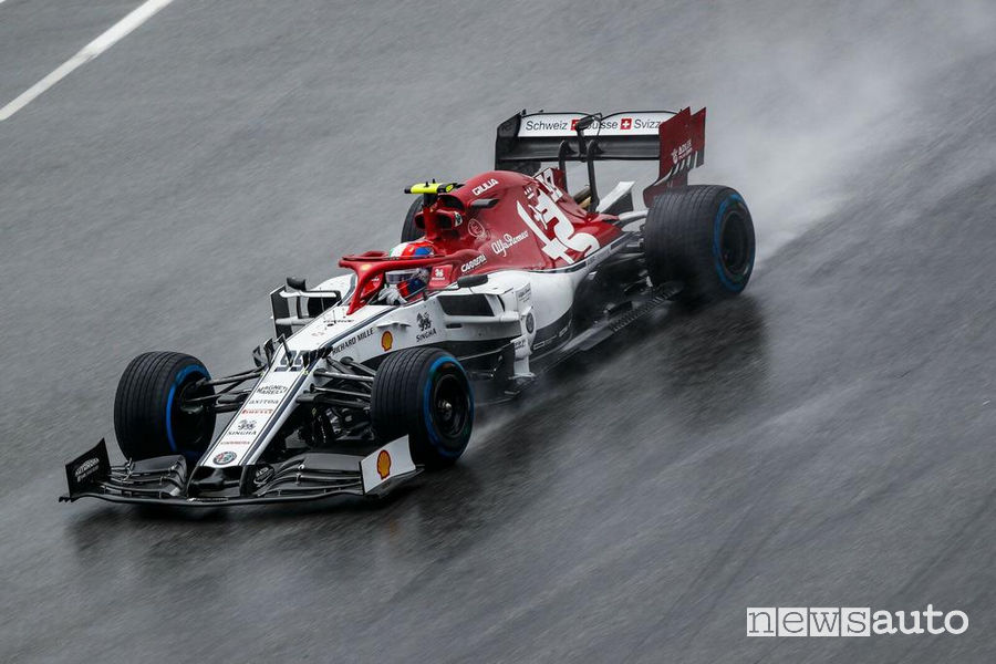 F1 Gp di Germania 2019 Alfa Romeo Racing di Antonio Giovinazzi