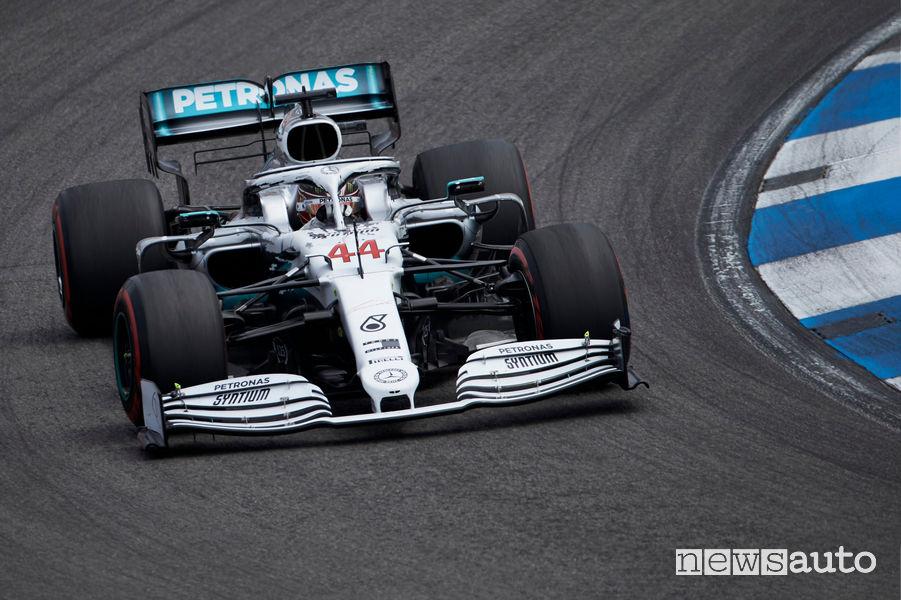 Lewis Hamilton pole position Gp Germania 2019