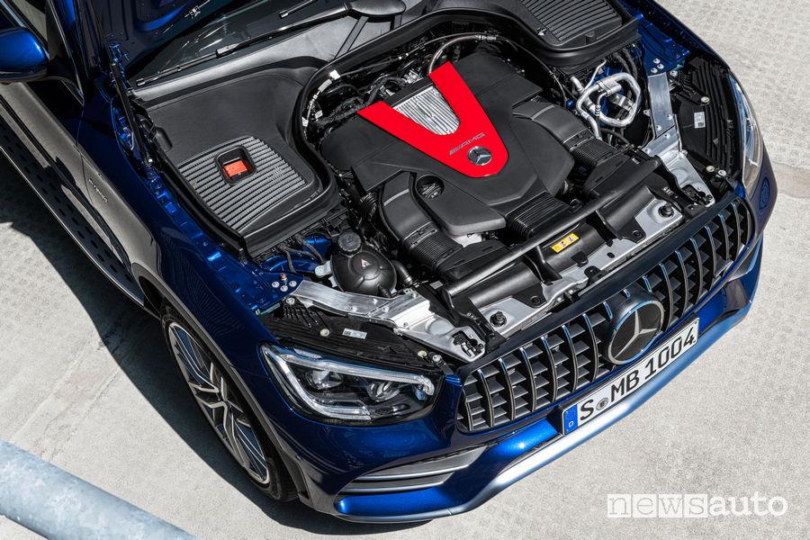 Mercedes-AMG GLC 43 4Matic SUV vano motore V6 Biturbo 3.0 390 CV