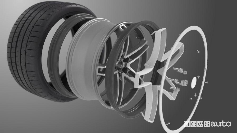 Michelin Acorus cerchio che evita danni da buche