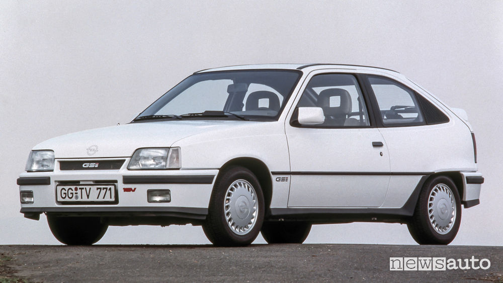 Opel Kadett GSi 16 valvole