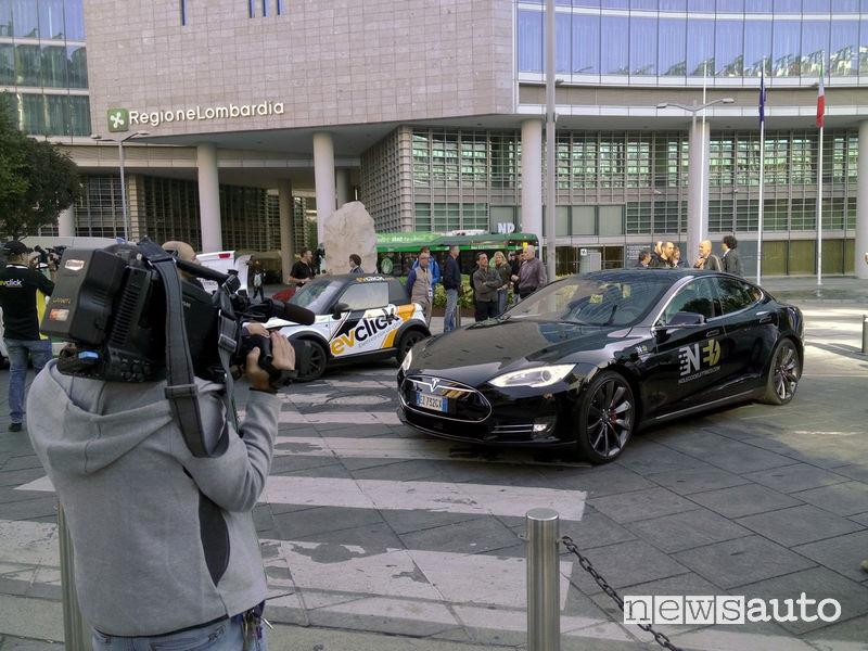 Raduno veicoli elettrici Milano
