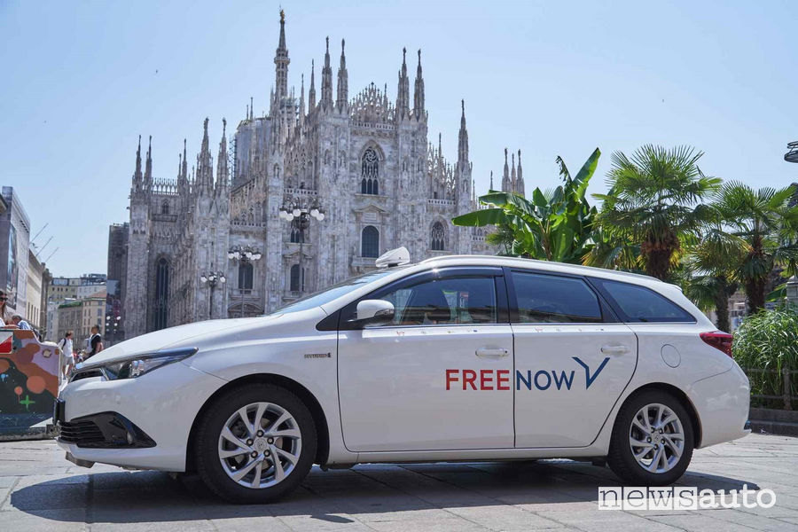 mytaxi diventa Free Now