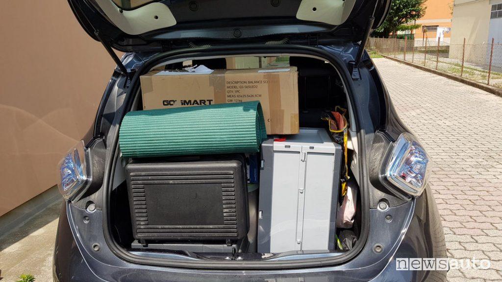 viaggio auto elettrica renault zoe