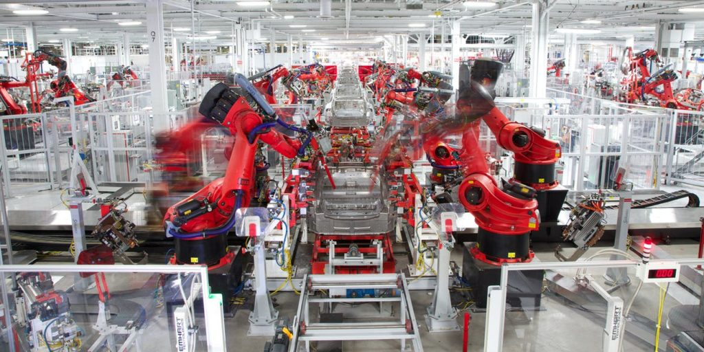 Gigafactory Tesla, Stabilimento di Freemont (CA)