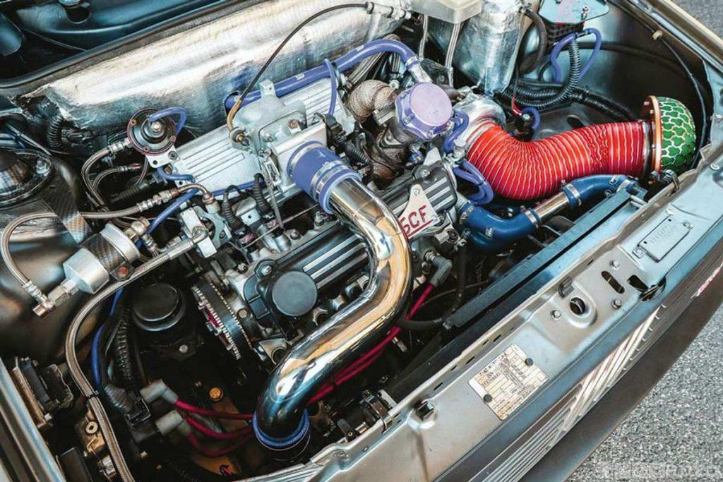 Motore Fiat Uno Turbo elaborato