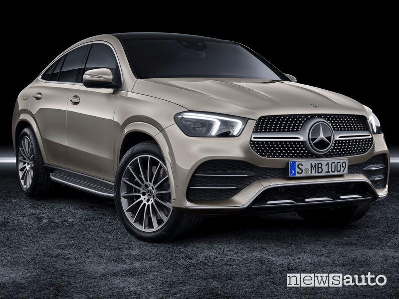 Mercedes-Benz GLE Coupé 2019 vista di profilo
