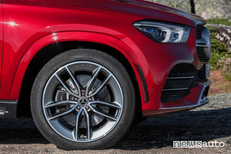 Mercedes-Benz GLE Coupé 2019 cerchi in lega ed impianto frenante