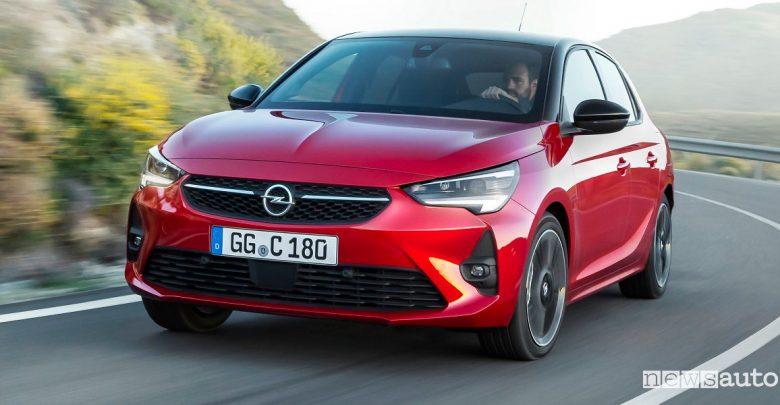 Nuova Opel Corsa al Salone di Francoforte 2019