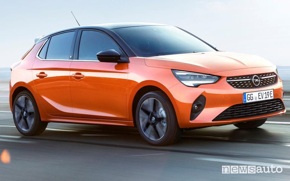 Opel Corsa-e elettrica 2019