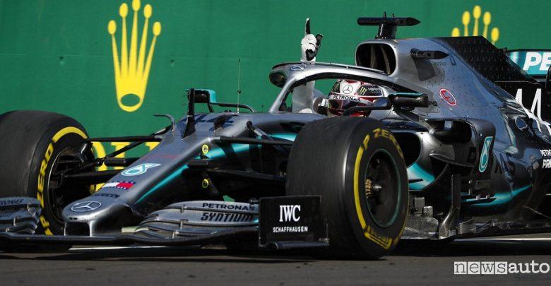 F1 Gp Ungheria 2019 Mercedes-AMG Hamilton