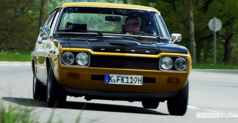 Ford Capri 50 anni