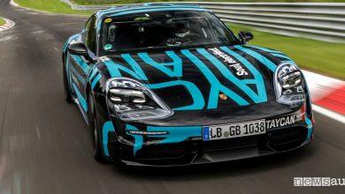Photo of Record auto elettrica al Nurburgring, primato per la Porsche Taycan