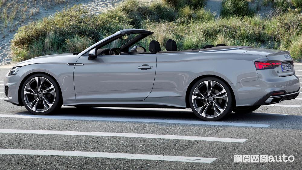 Tetto aperto Audi A5 Cabriolet