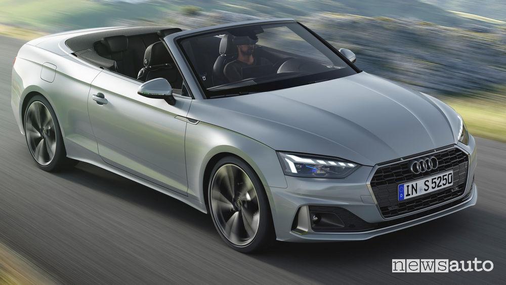 Fiancata laterale lato passeggero Audi A5 Cabriolet