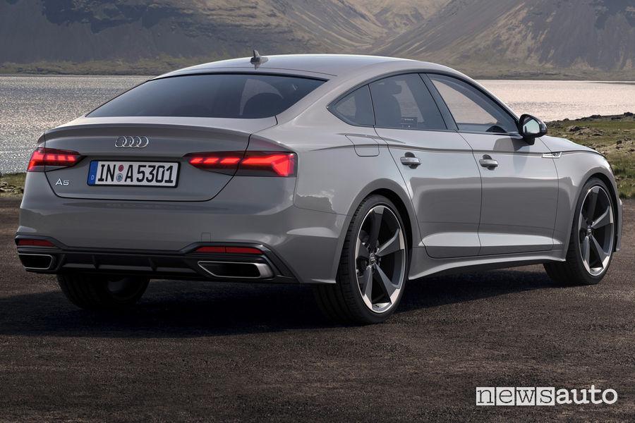 Fari a LED posteriori Audi A5 Sportback