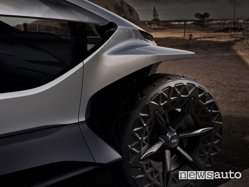 Ruote di grandi dimensioni Audi AI:TRAIL concept