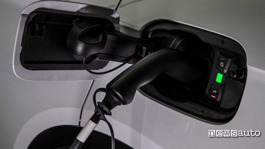 ricarica batteria Audi A6 ibrida plug-in