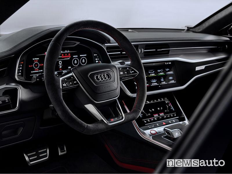 Volante sportivo RS nuova Audi RS7 Sportback 2020