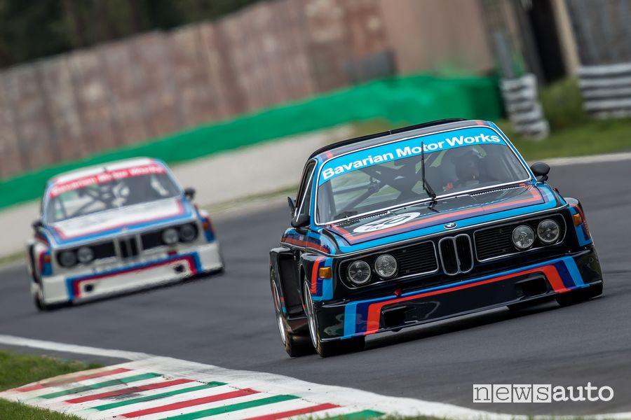 BMW 3.0 CSL gare auto storiche Monza Historic 2019