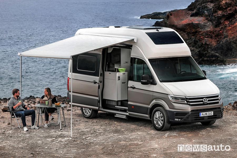 Equipaggiamento da campeggio Volkswagen Grand California