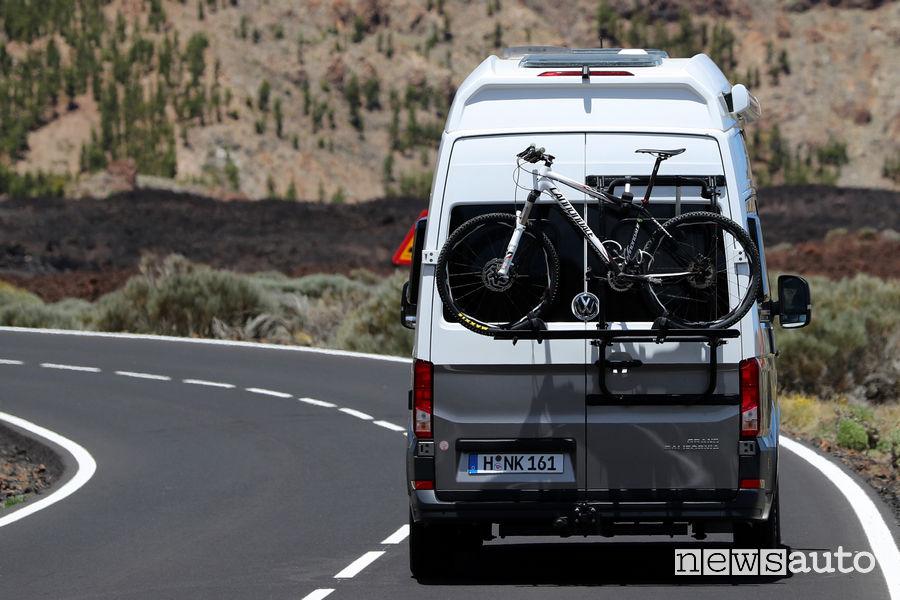 Porta bici camper Volkswagen Grand California 600