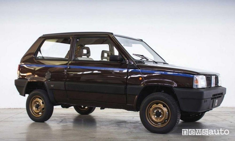 Fiat Panda 4x4 elettrica Icon-e Garage Italia restauro d'epoca con il nuovo, è restomod!